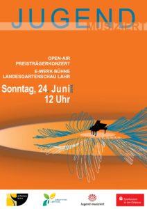 """Open Air Konzert der Bundespreisträger """"Jugend musiziert"""""""
