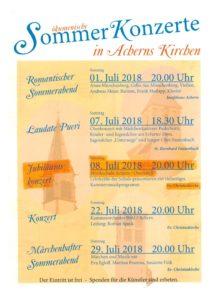 ökumenische Sommer-Konzerte in Acherns Kirchen