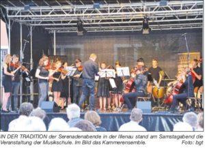 Serenadenabend im historischen Innenhof der Illenau