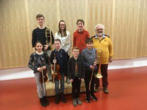 """Oberkircher Nachwuchstalente beim Regionalwettbewerb """"Jugend musiziert"""" erfolgreich"""