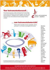 Instrumentenkarussell startet im Februar in Oberkirch – es sind noch Plätze frei – jetzt anmelden!