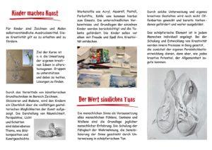 Zusätzliche Termine für die Kunstschule Oberkirch