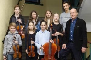 Für zehn Jungmusiker geht's auf Landesebene weiter