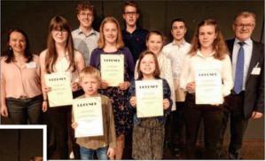Junge Musiker zeigen ihr Können