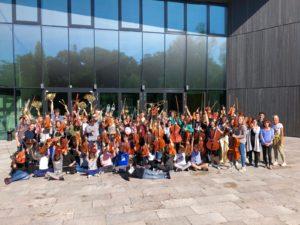 Jugendsinfonie-Orchester der Musik- und Kunstschule spielt große Werke