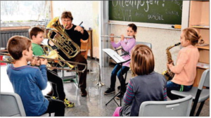 Ottenhöfens Erwin-Schweizer-Schule bietet mit der Musikschule erstmals eine Bläserklasse an