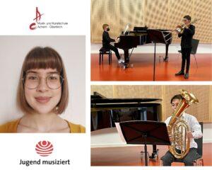Junge Talente der Musikschule erfolgreich beim Bundeswettbewerb Jugend Musiziert